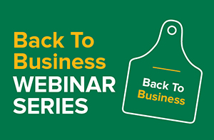 Back to business webinar