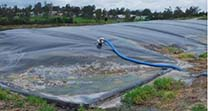 Covered anaerobic lagoons