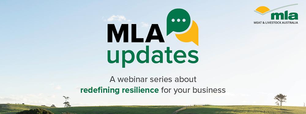 MLA updates: Redefining resilience through sustainability | Webinar