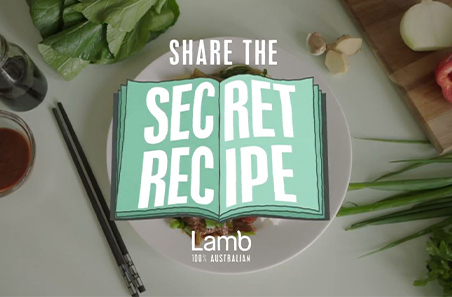 Sharing lamb through 'secret recipes'