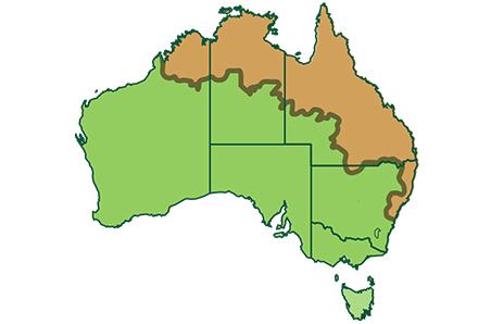 Images Of Australia Map.Livestock Distribution Maps Meat Livestock Australia